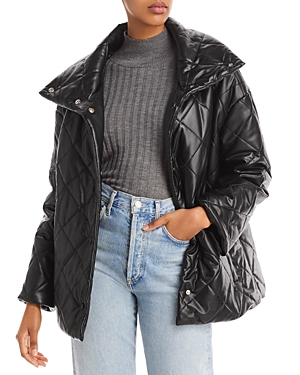 Bagatelle. nyc Diamond Quilted Jacket