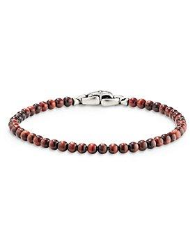 David Yurman - Spiritual Beads Bracelet with Red Tiger's Eye