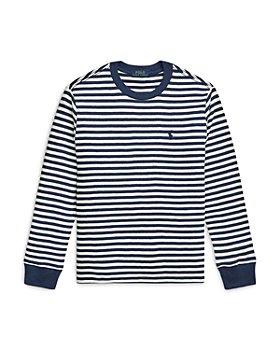 Ralph Lauren - Boys' Waffle Knit Cotton Long Sleeve Tee - Little Kid, Big Kid
