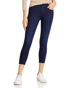 rag & bone - Cate Mid Rise Shorty Skinny Jeans in Esme