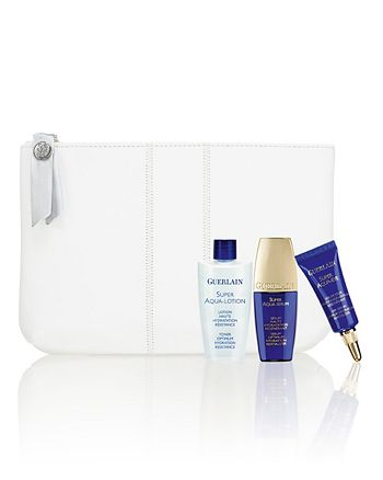 Guerlain - Take home a Super Aqua 4-piece gift  - yours with any  purchase of $200 or more.