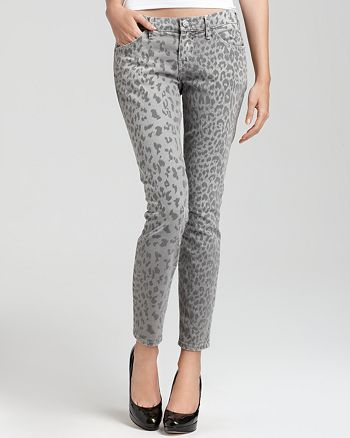 Current/Elliott - The Stiletto Leopard Print Pants