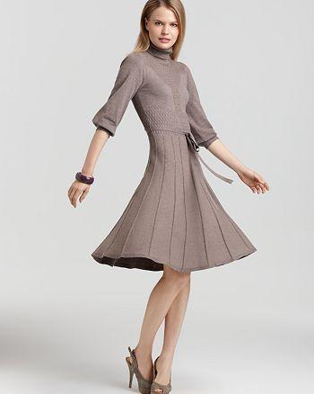 Max & Cleo - Turtleneck Sweater Dress
