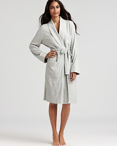 Lauren Ralph Lauren Quilted Collar & Cuffs Short Robe - Bloomingdale's_0