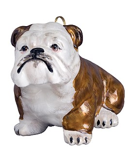 "Joy to the World - Joy to the World ""Bulldog"" Holiday Ornament"
