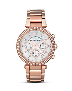 Michael Kors - Parker Pavé Chronograph Bracelet Watch, 39mm