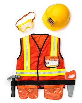 Melissa & Doug - Melissa & Doug Construction Worker Costume