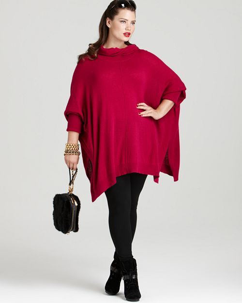 Multiple Brands - DKNYC Plus Size Turtleneck Pullover Sweater & more