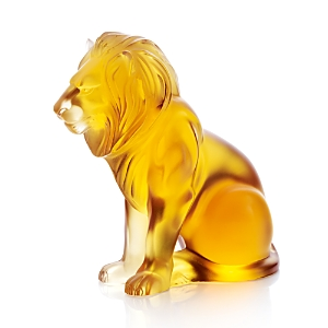 Lalique Bamara Lion Figure