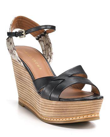 IVANKA TRUMP - Cadie Wedge Sandals
