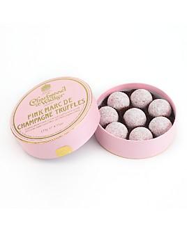 """Charbonnel et Walker - """"Marc de Champagne"""" Pink Chocolate Truffles"""