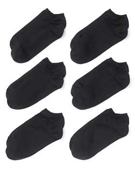HUE - Microfiber Liner Socks, Set of 6