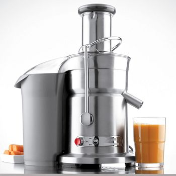 "Breville - ""Ikon Die-Cast Juice Fountain Elite"" Juice Extractor by"