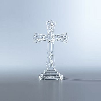 Waterford - Standing Cross, 8""