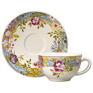 Gien France Mille Fleur Tea Saucer