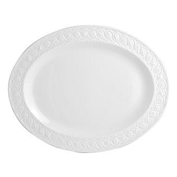 """Bernardaud - Louvre Oval Platter, 13"""""""