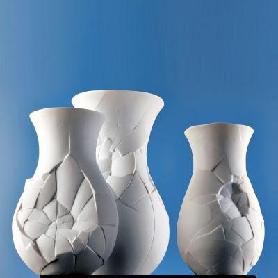 "Phases White Vase 10"""
