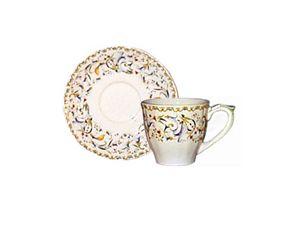 Gien France Toscana Teacup & Saucer