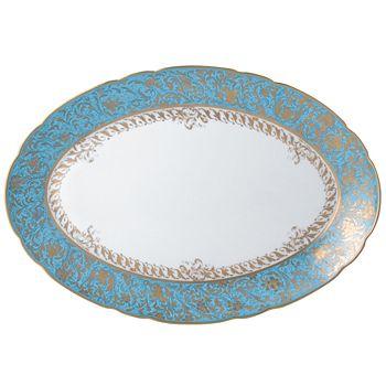 """Bernardaud - Eden Oval Platter, 13"""""""