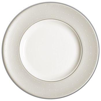 """Monique Lhuillier Waterford - Monique Lhuillier """"Étoile"""" Platinum Salad Plate"""
