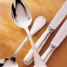 """Malmaison"" Silverplate Serving Fork"