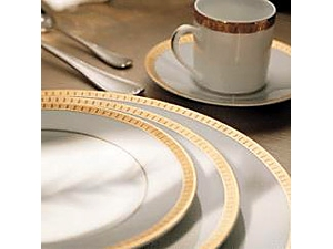 Christofle Malmaison Gold Oval Platter