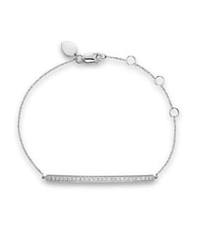 Meira T - 14K White Gold Bar Bracelet