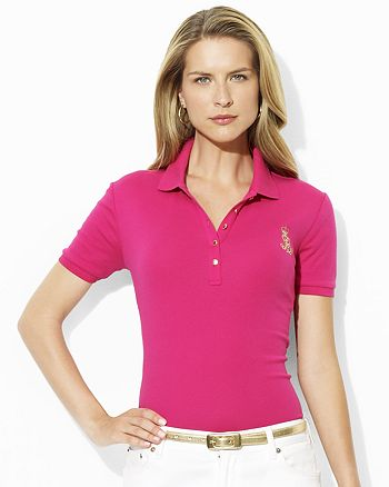 be326131088 Ralph Lauren Jenna Short Sleeve Polo Shirt | Bloomingdale's