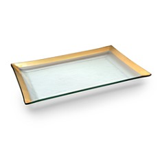 Annieglass Roman Antique Martini Tray - Bloomingdale's_0