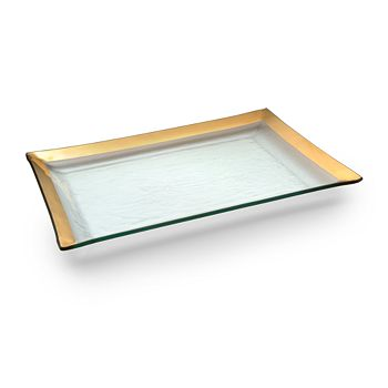 Annieglass - Roman Antique Martini Tray