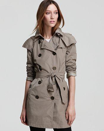 Burberry Balmoral Raincoat with Hood   Bloomingdale s beee1cfe74e