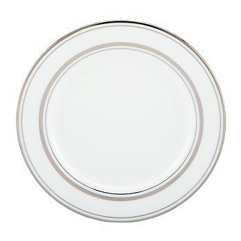 kate spade new york - Library Lane Platinum Butter Plate