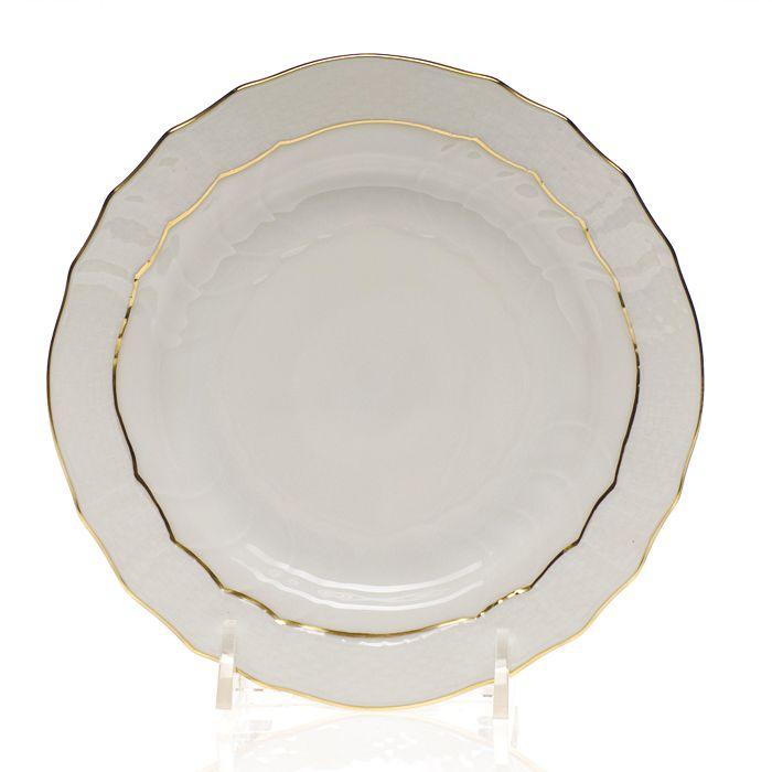 Herend - Golden Edge Bread & Butter Plate