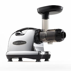 Omega 8006 Nutrition Center Low Speed Masticating Extraction Juicer, Chrome