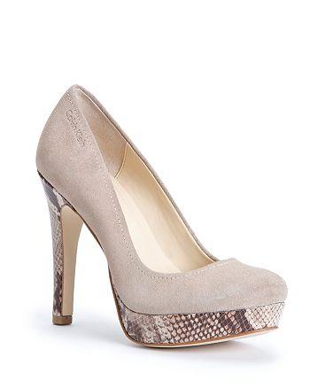 13600795d7dbb Calvin Klein Platform Pumps - Kendall High-Heel   Bloomingdale's