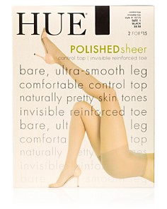 HUE - So Silky Sheer Control Top Tights
