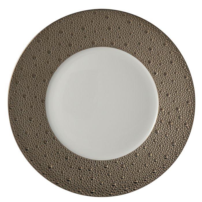 Bernardaud - Ecume Platinum Salad Plate