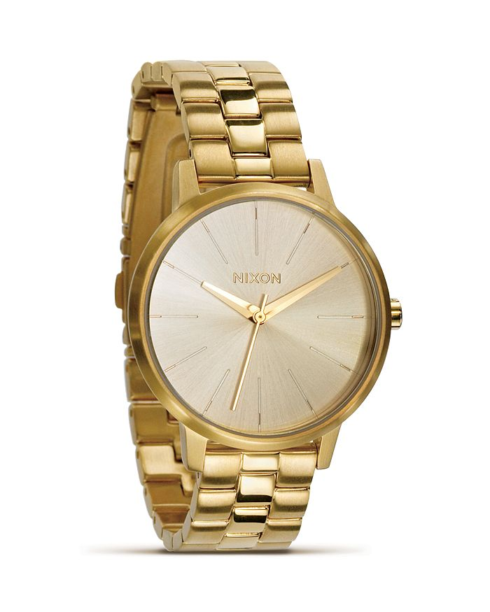 Nixon Bracelets THE KENSINGTON GOLD BRACELET WATCH, 36.5MM