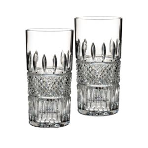 Waterford Irish Lace High Ball Glass, Pair