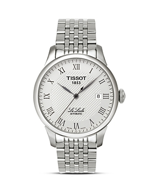 Tissot Le Locle Men's Silver Automatic Classic Watch, 39mm