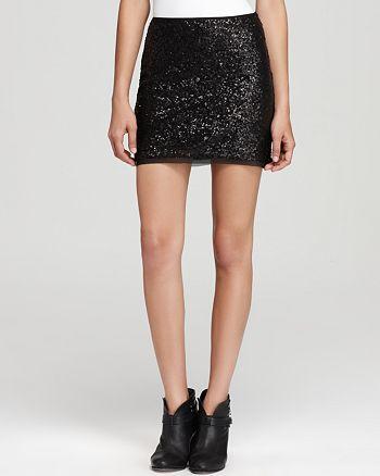 Olive and Oak - Sequin Mini Skirt