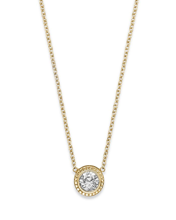 Bloomingdale S Diamond Pendant Necklace In 14k Yellow Gold 0 25 Ct T W 100 Exclusive In White Gold Modesens