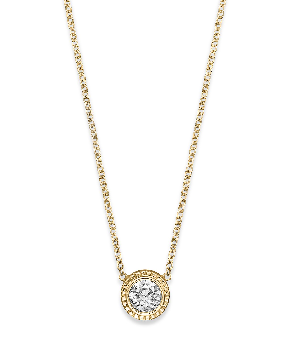 Bloomingdales diamond pendant necklace in 14k yellow gold 025 ct pdpimgshortdescription aloadofball Gallery