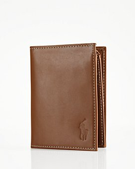 Polo Ralph Lauren - Burnished Leather Window Billfold Wallet