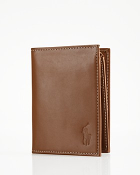 Polo Ralph Lauren - Burnished Leather Window Billfold Wallet
