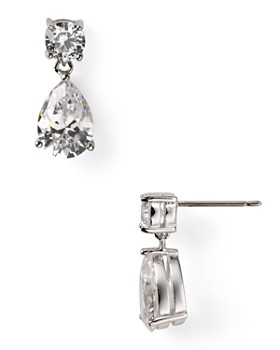 Nadri - Cubic Zirconia Update Teardrop Earrings