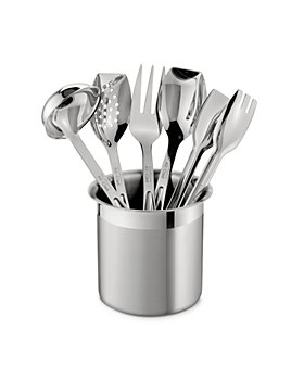 All-Clad - Stainless Steel Cook & Serve 6-Piece Tool Set