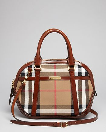 c67bb6e0c5b6 Burberry - Satchel - Small Orchard Check