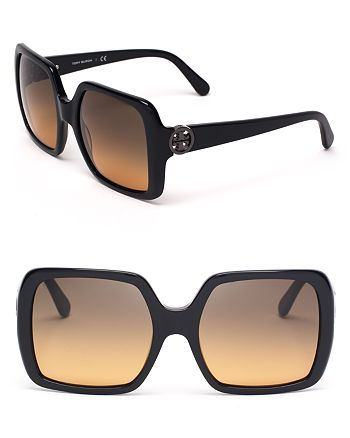 Tory Burch - Women's Modern Oversized Square Sunglasses