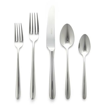 Couzon - Fusain/Avignon Silverplated 5-Piece Place Setting